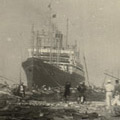 Photograph: Devastation in Yokohama
