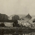 Photograph: Scene of destruction in or near Yokohama