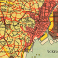 Map: Zoning system of reconstructed Tokyo